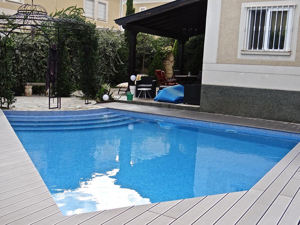 Instalacion de fontaneria de una piscina trendy instalar for Instalar piscina precios