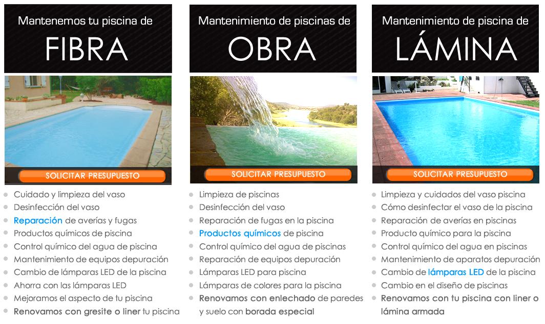 mantenimiento de piscinas en Guadalajara - Espool Piscinas