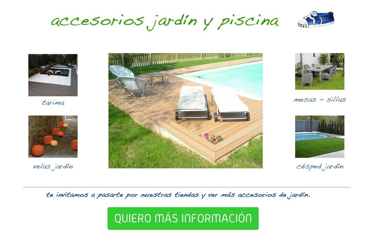 Accesorios de jard n y piscina espool piscinas for Accesorios jardin