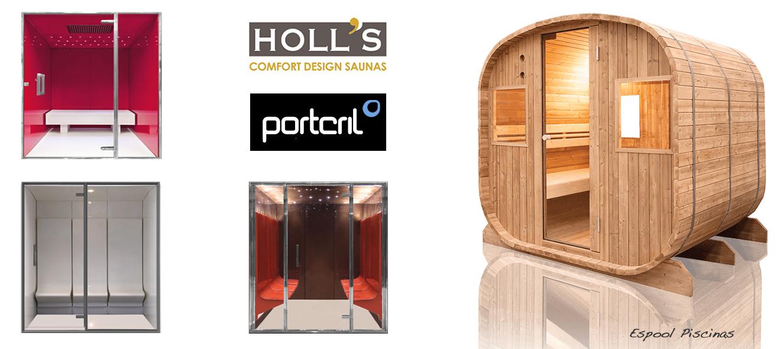 Compra tu baño de vapor Holl´s o Portcril en las tiendas Espool Piscinas