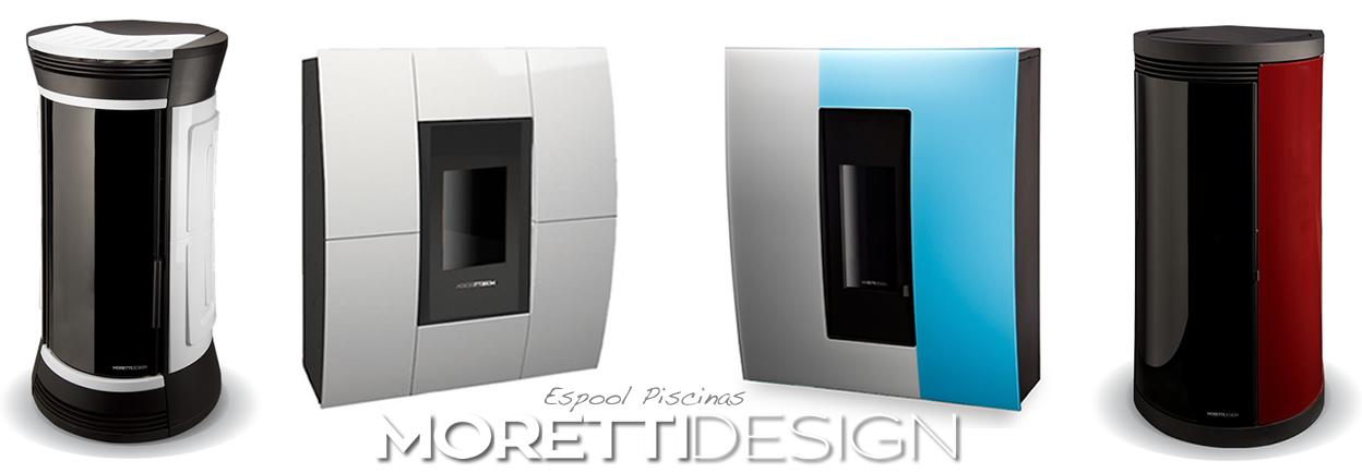 Estufas Moretti Design. De venta en Espool Piscinas