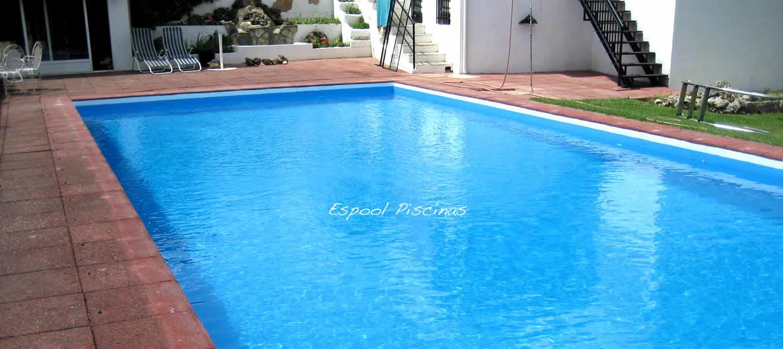 Construcción e instalación de piscinas de obra, fibra y lámina armada con Espool Piscinas.