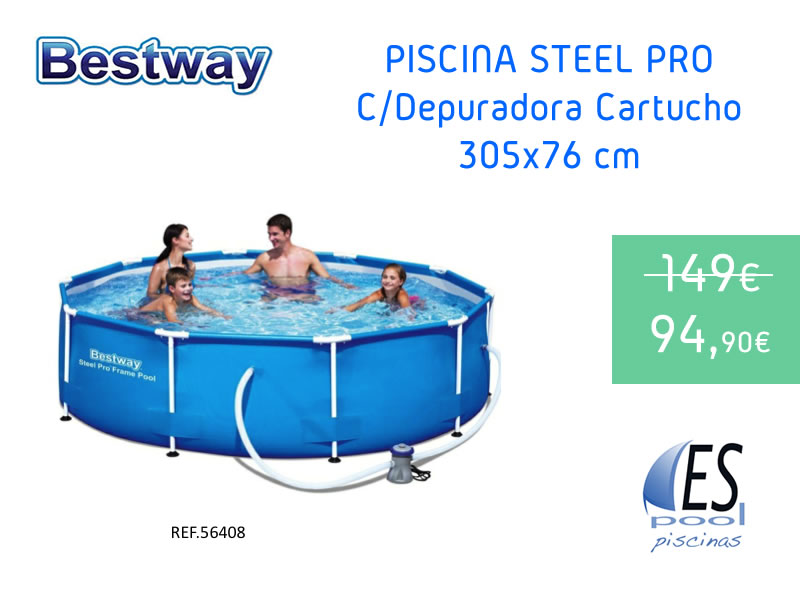 Piscinas desmontables bestway espool piscinas for Espool piscinas