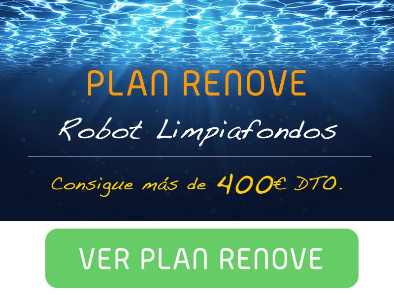 Plan Renove de limpiafondos. Consigue más de 400€ en Espool Piscinas.