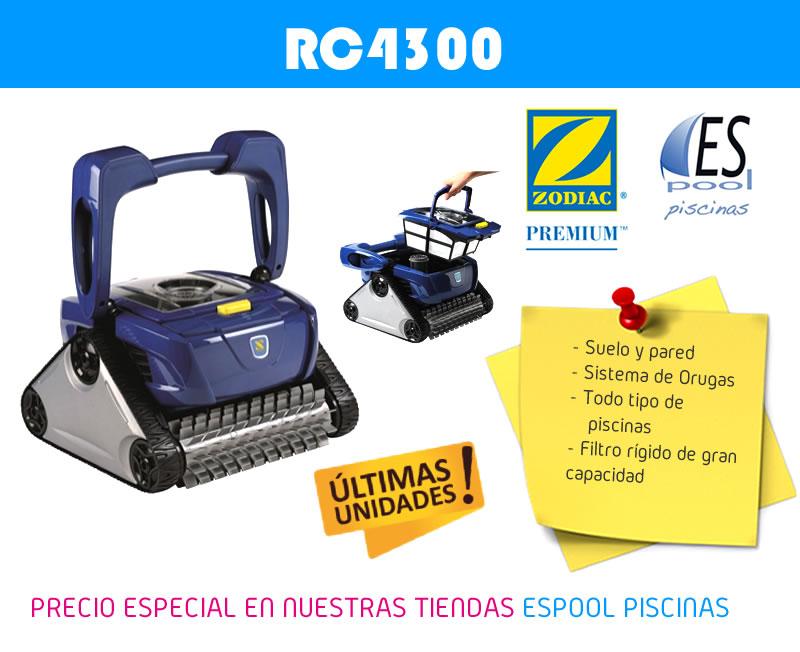 Robot limpiafondos Zodiac. De venta en Espool Piscinas, Guadalajara.